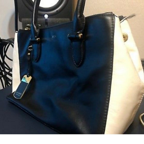 deac648601 RLL Ralph Lauren collection leather tote